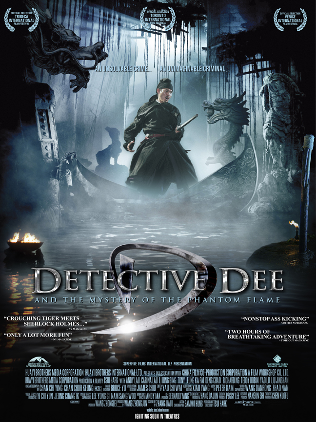 DETECTIVE DEE AND THE MYSTERY OF PHANTOM FLAME