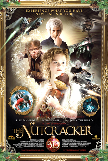 THE NUTCRACKER IN 2D & 3D