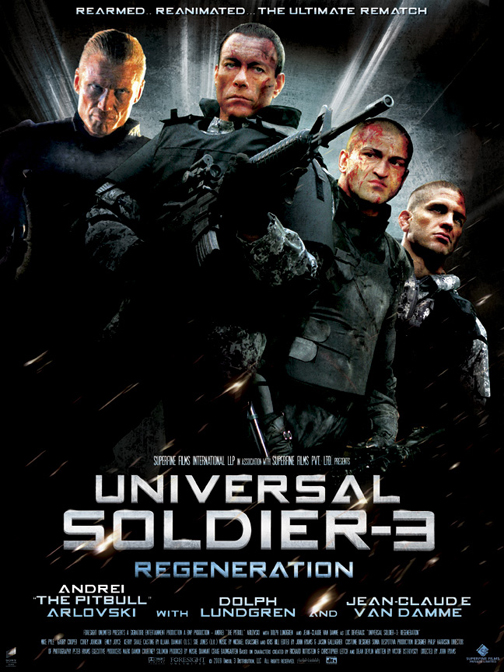 UNIVERSAL SOLDIER 3 a.k.a. UNIVERSAL SOLDIER REGENERATION
