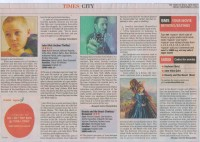 Beauty and the Beast.3 Star Rating in Times of India.14.11.2014